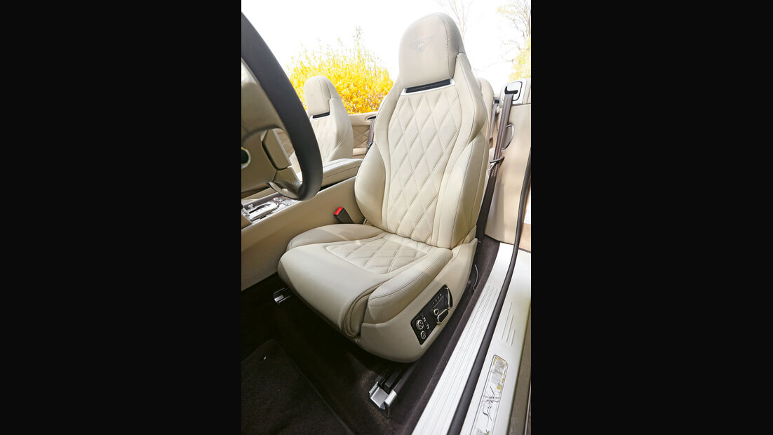 Bentley Continental GT Speed W12 Convertible, Fahrersitz