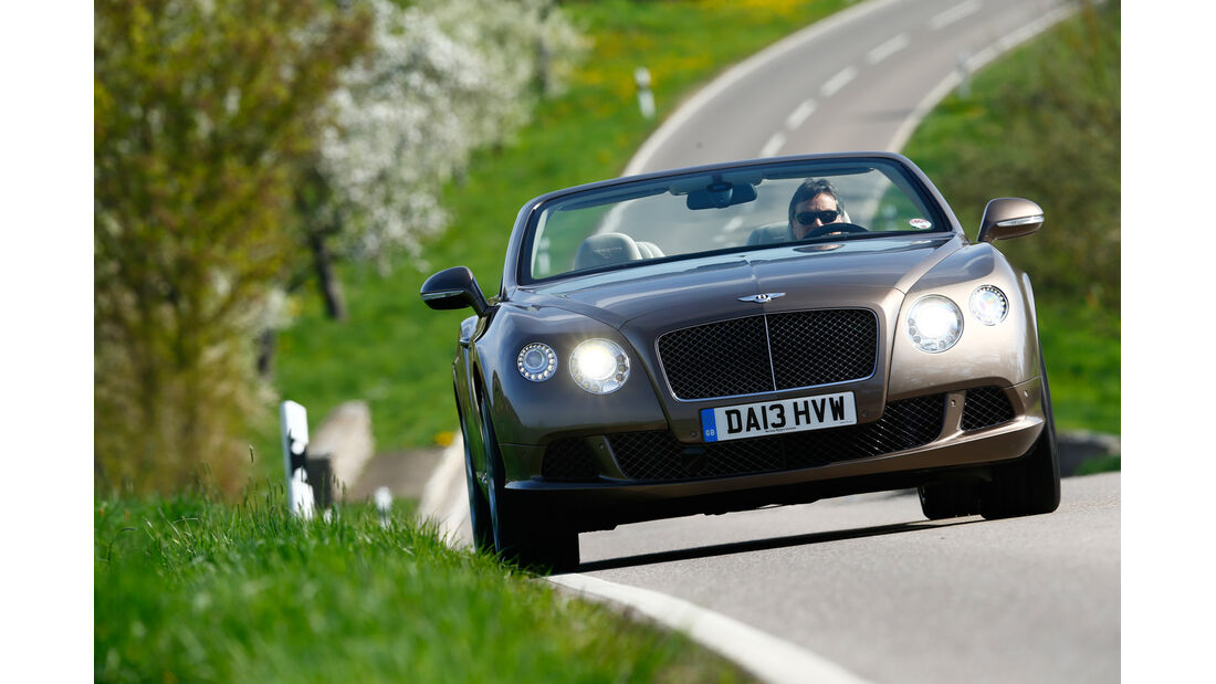 Bentley Continental GT Speed W12 Convertible, Frontansicht