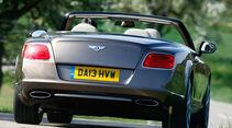 Bentley Continental GT Speed W12 Convertible, Heckansicht