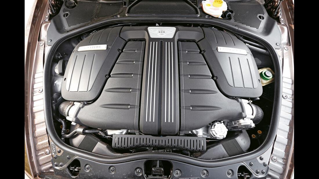 Bentley Continental GT Speed W12 Convertible, Motor