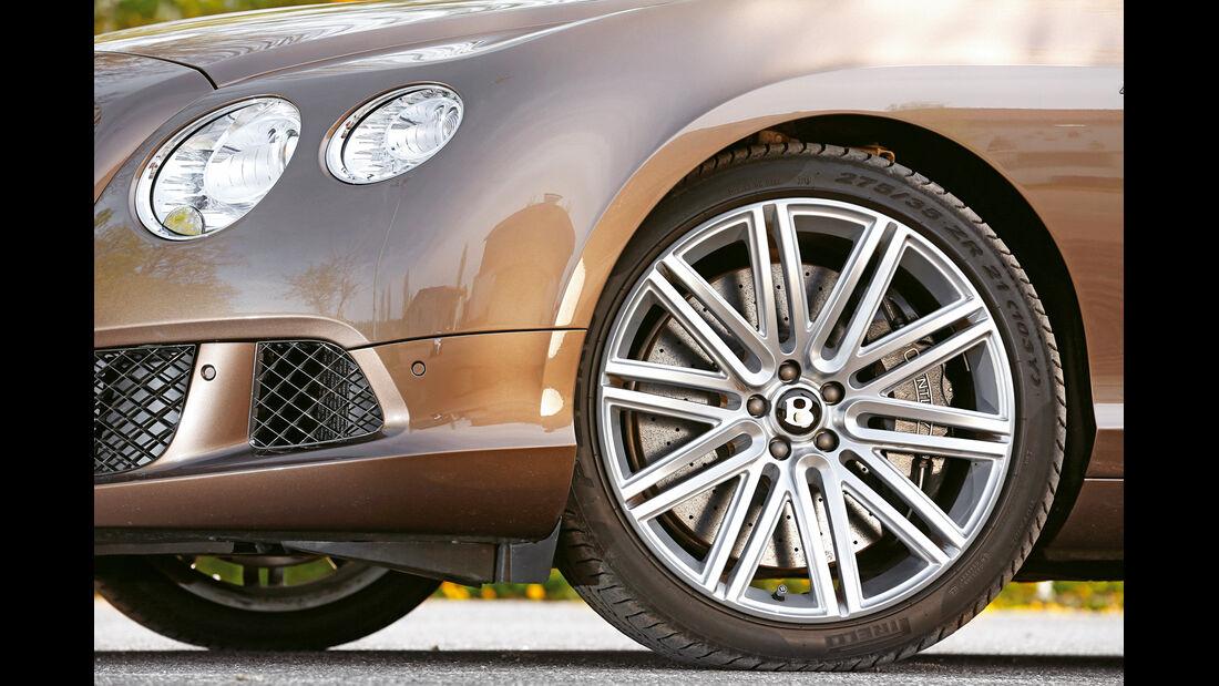 Bentley Continental GT Speed W12 Convertible, Rad, Felge