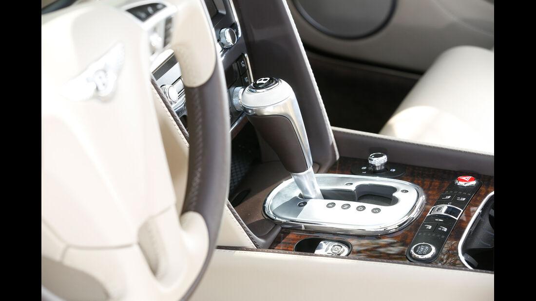 Bentley Continental GT Speed W12 Convertible, Schalthebel