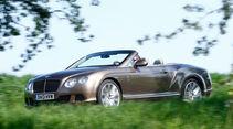 Bentley Continental GT Speed W12 Convertible, Seitenansicht