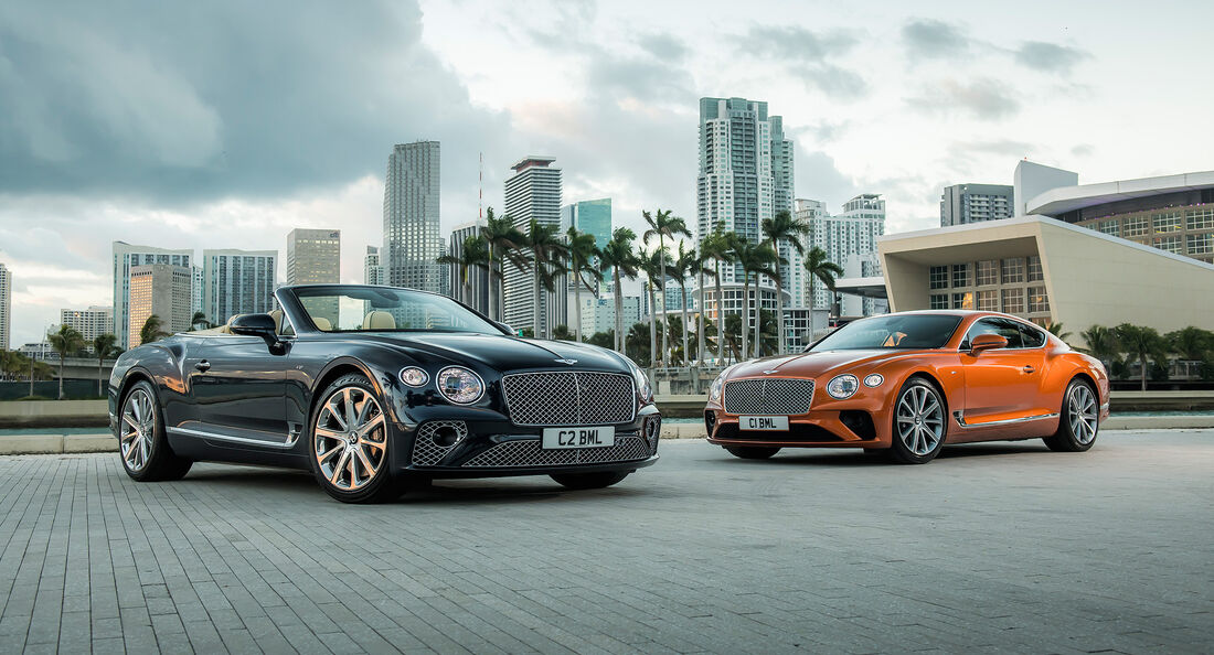 Bentley Continental GT V8 2019