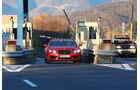 Bentley Continental GT V8, Frontansicht, Mautstelle