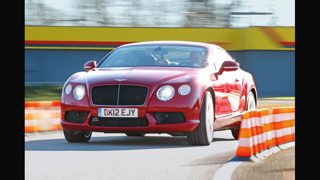 Bentley Continental GT V8, Frontansicht
