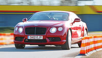 Bentley Continental GT V8, Frontansicht
