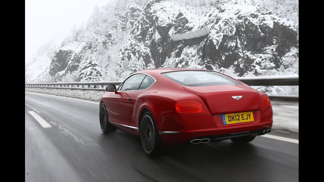 Bentley Continental GT V8, Heckansicht