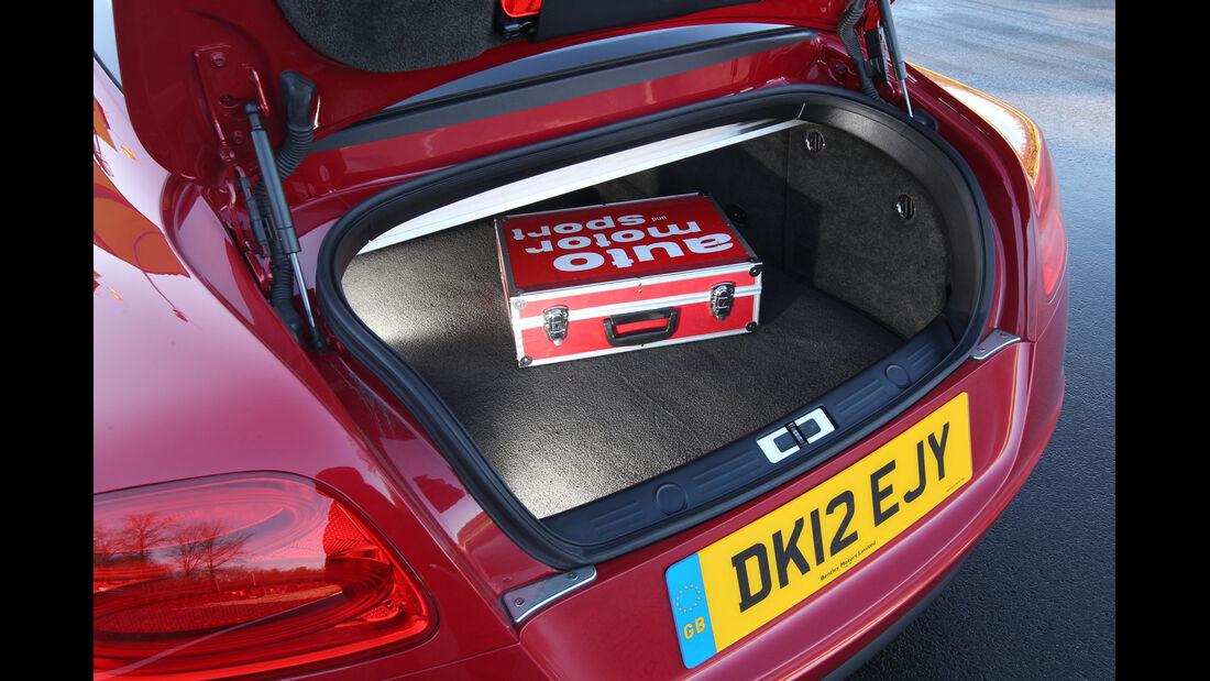 Bentley Continental GT V8, Kofferraum
