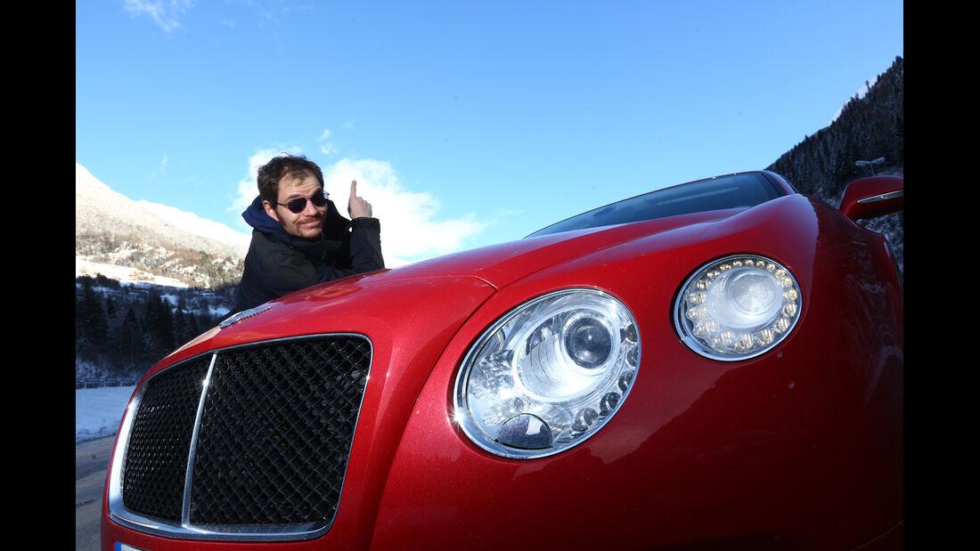 Bentley Continental GT V8, Kühlergrill, Sebastian Renz