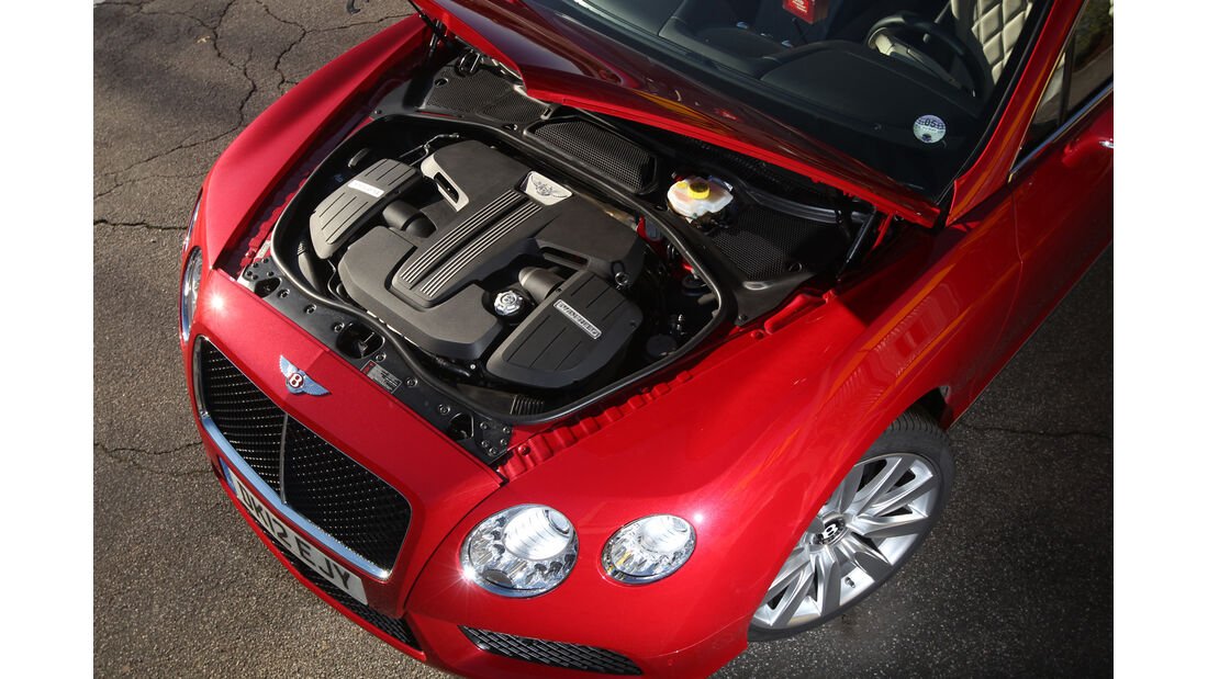 Bentley Continental GT V8, Motor