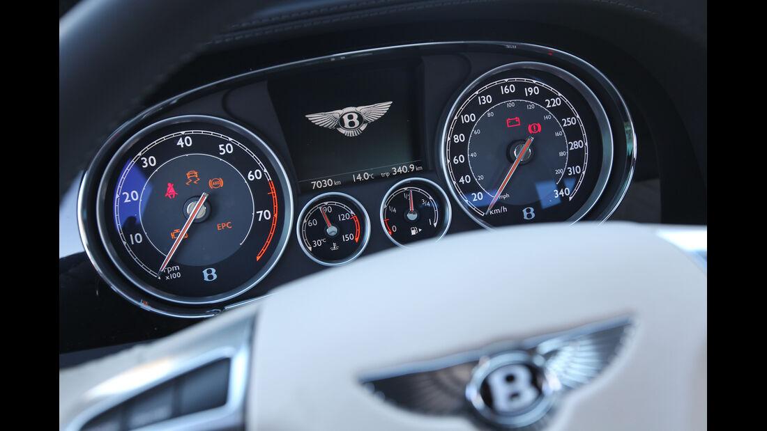 Bentley Continental GT V8, Rundinstrumente