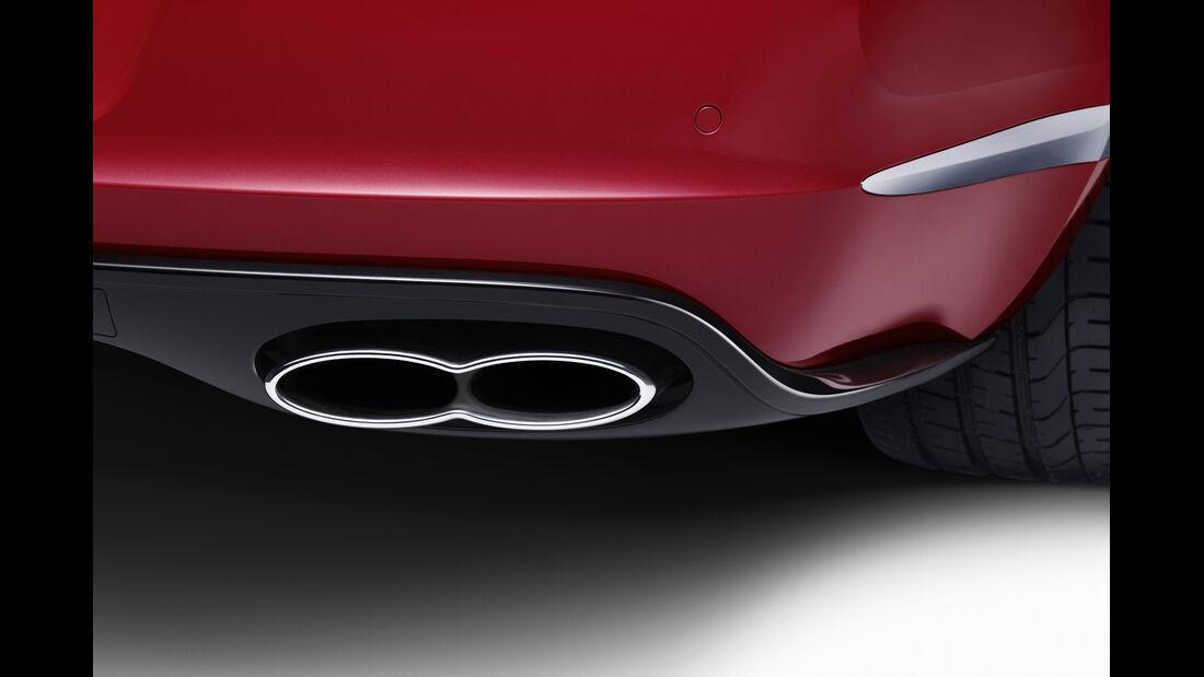 Bentley Continental GT V8 S Cabrio, Endrohre
