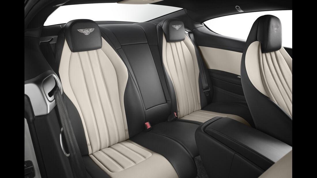Bentley Continental GT V8 S Cabrio, Fondsitze