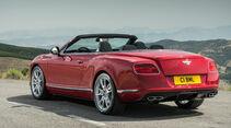 Bentley Continental GT V8 S Cabrio, Heckansicht