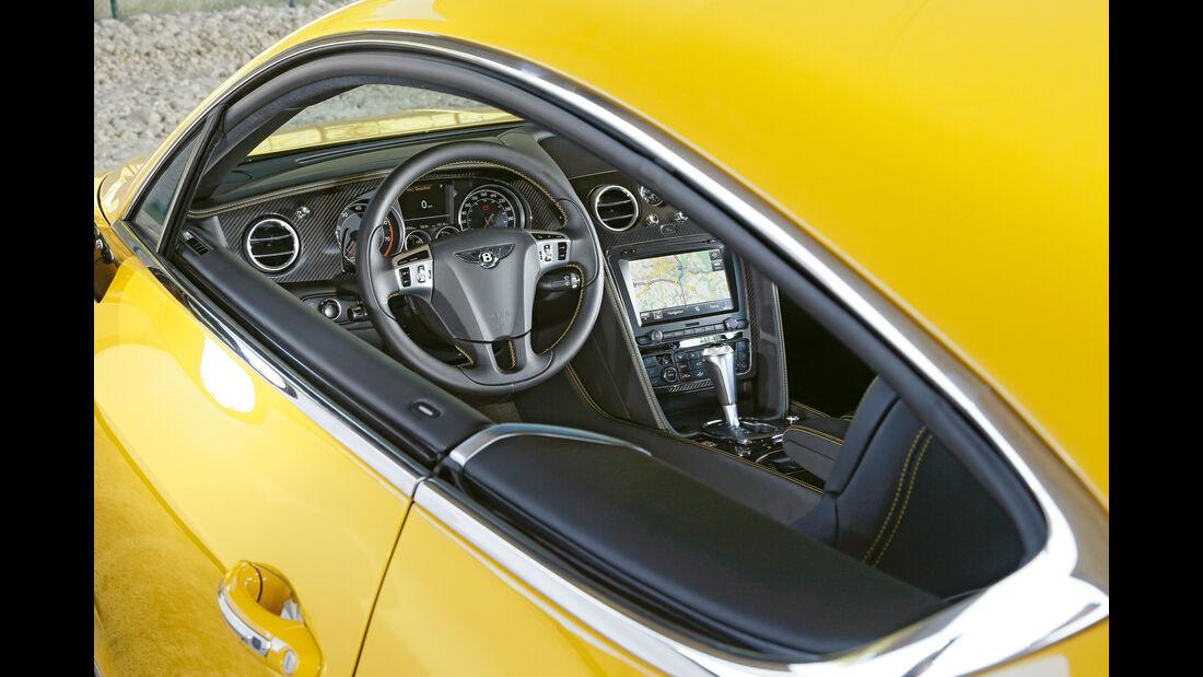 Bentley Continental GT V8 S, Cockpit