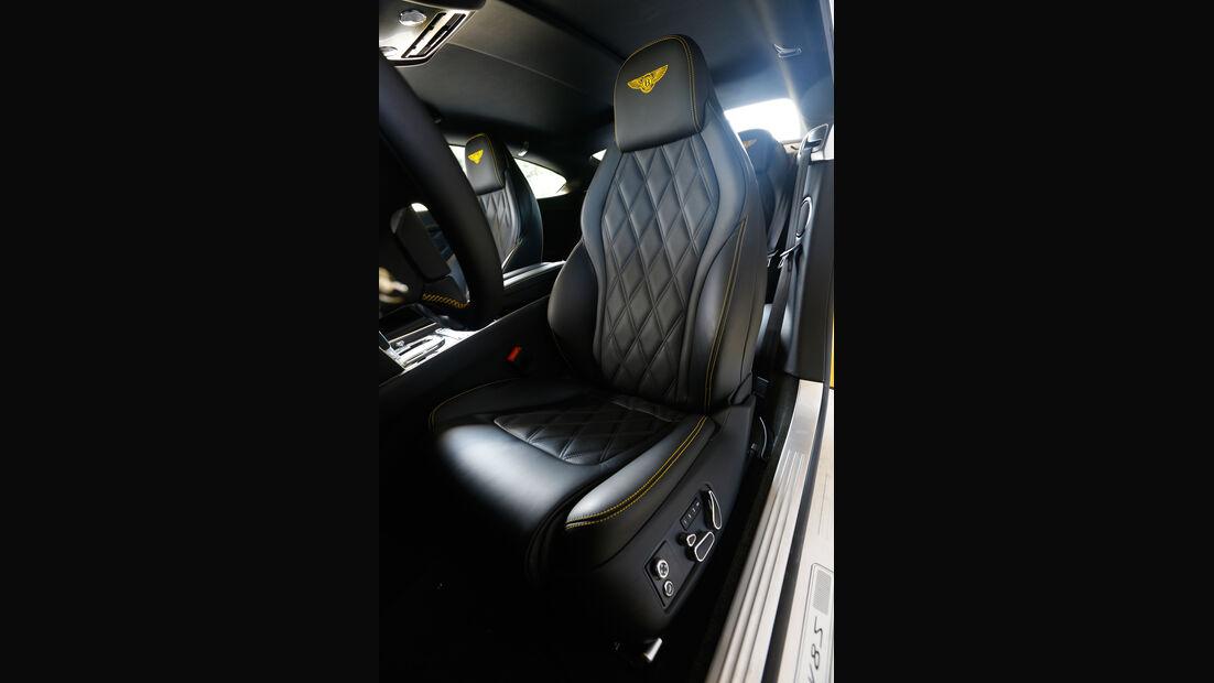 Bentley Continental GT V8 S, Fahrersitz