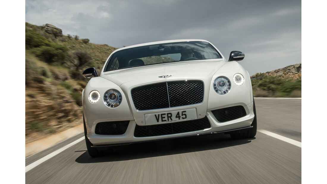 Bentley Continental GT V8 S, Frontansicht
