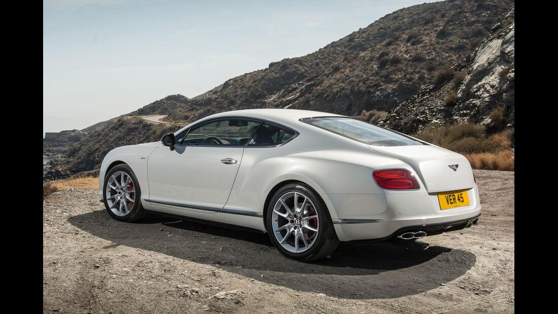 Bentley Continental GT V8 S, Heckansicht