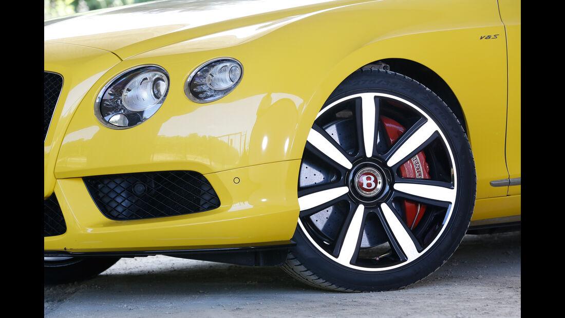 Bentley Continental GT V8 S, Rad, Felge