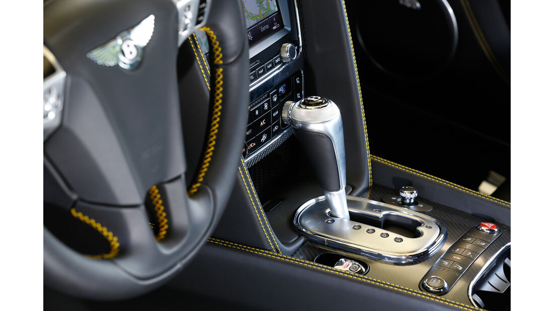 Bentley Continental GT V8 S, Schalthebel