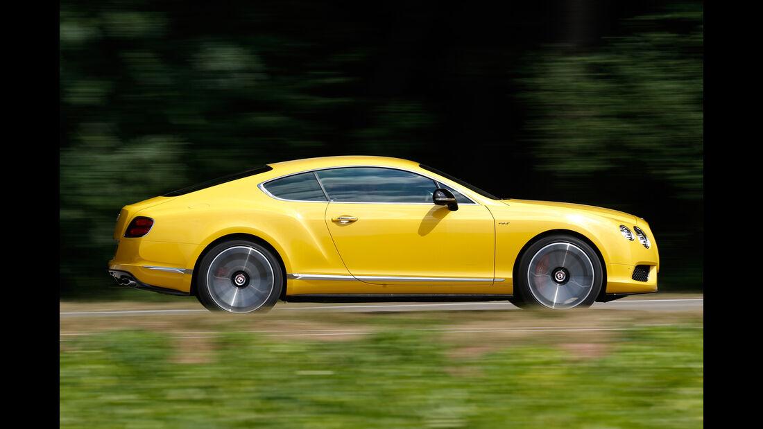 Bentley Continental GT V8 S, Seitenansicht