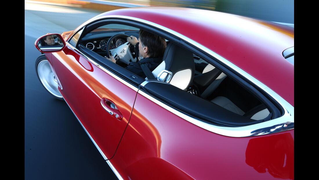Bentley Continental GT V8, Seitenlinie