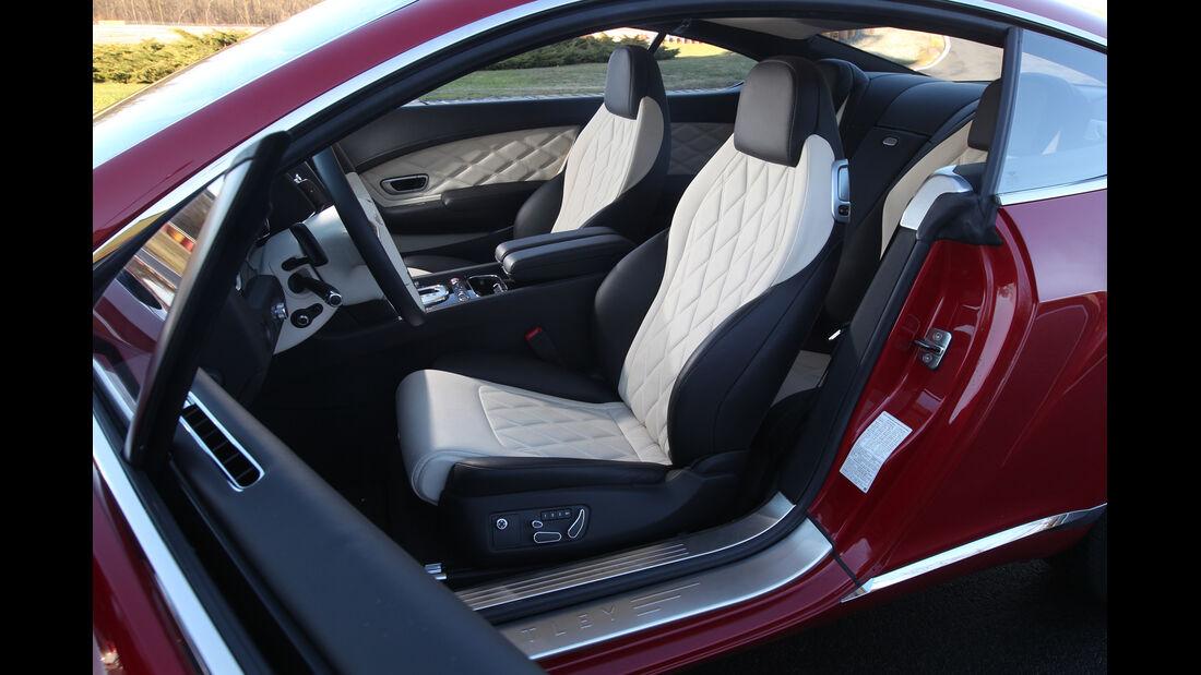 Bentley Continental GT V8, Sitze, Fahrersitz