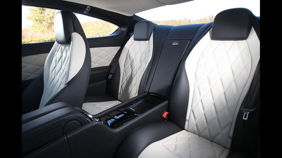 Bentley Continental GT V8, Sitze, Innenraum