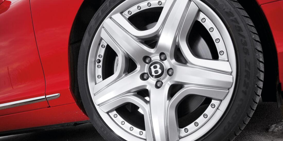 Bentley Continental GT, Vorderrad, Felge