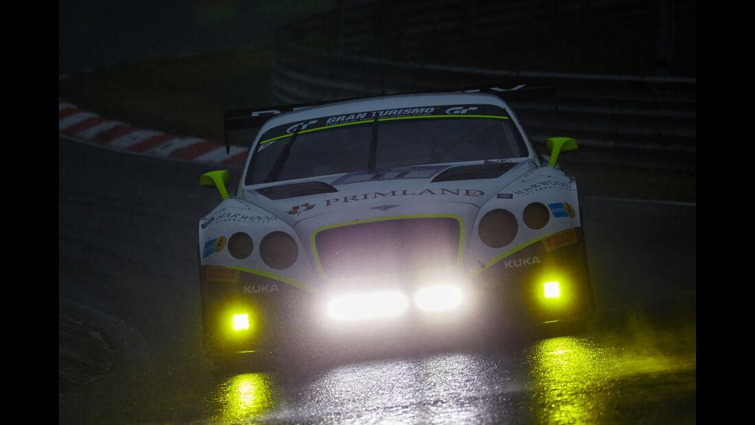 Bentley Continental GT3 - Bentley Team HTP -  #11 - Harold Primat, Christopher Brück, Clemens Schmid, Marco Seefried -  - 24h Nürburgring  - Donnerstag - 1. Qualifying - 14.5.2015