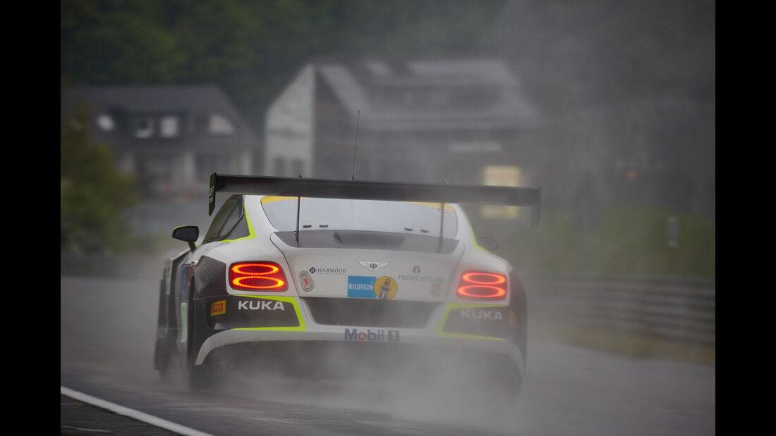 Bentley Continental GT3 - Bentley Team HTP -  #11 - Harold Primat, Christopher Brück, Clemens Schmid, Marco Seefried -  24h Nürburgring  - Donnerstag - 1. Qualifying - 14.5.2015