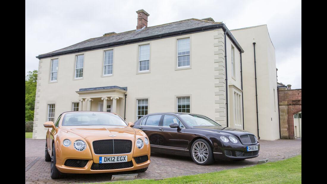 Bentley Continental GT3, Dovenby Hall Estate