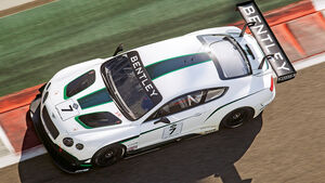 Bentley Continental  GT3, Draufsicht