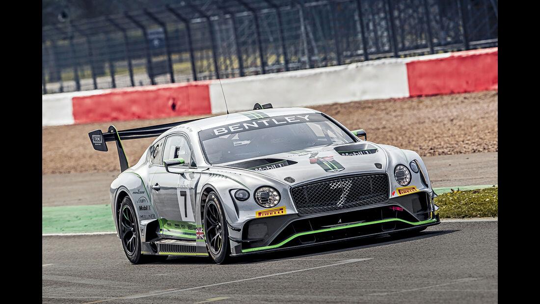 Bentley Continental GT3, Exterieur
