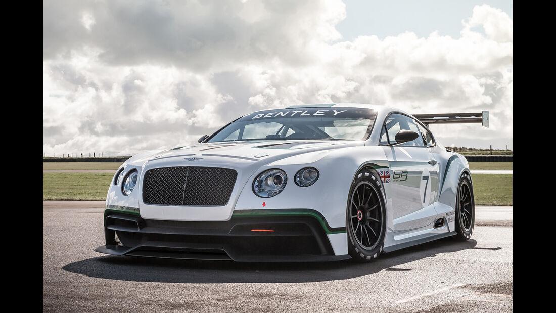 Bentley Continental GT3, Frontansicht