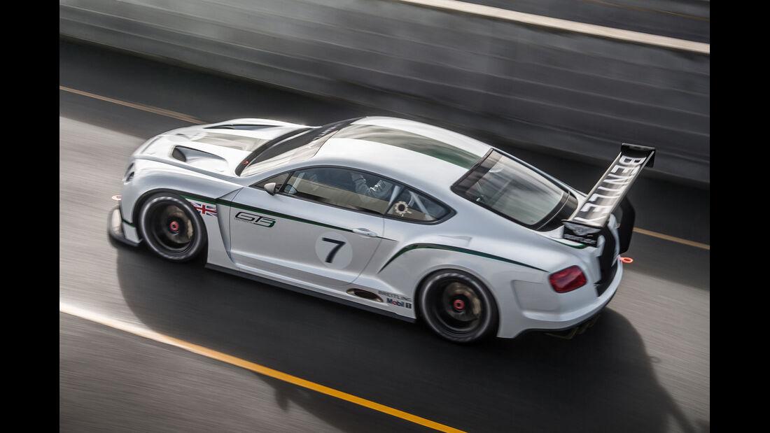 Bentley Continental GT3, Heckansicht