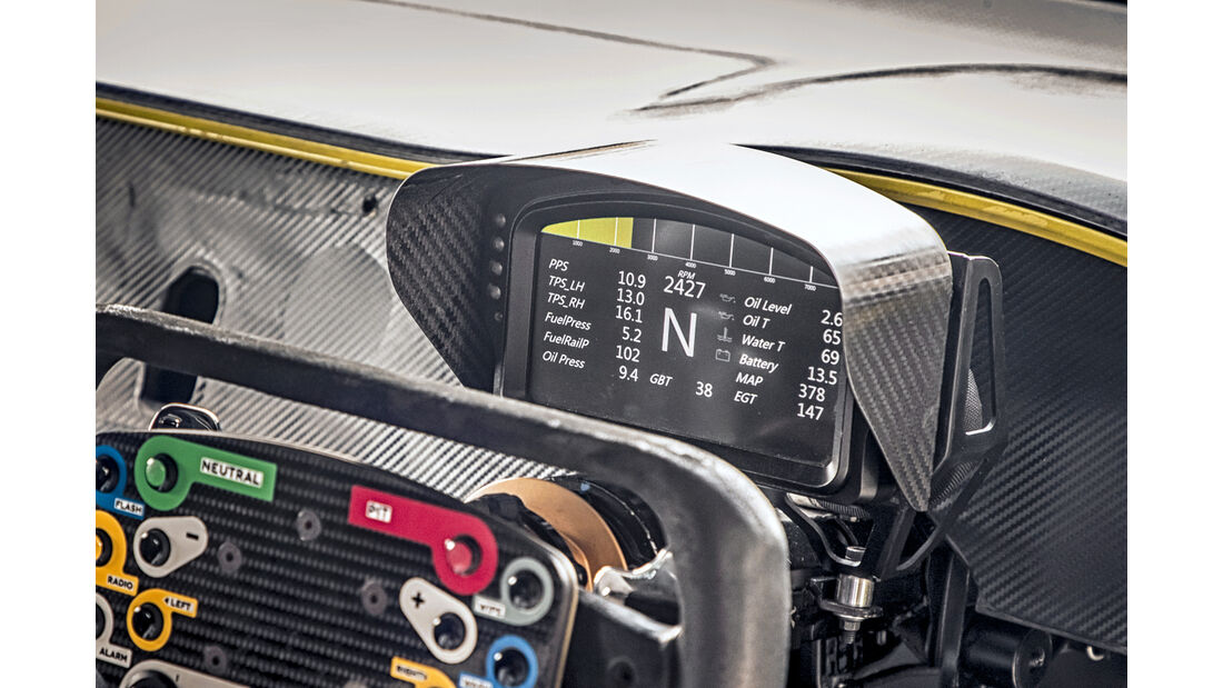 Bentley Continental GT3, Interieur