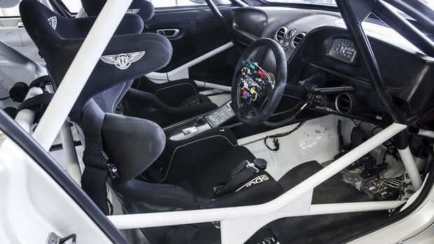 Bentley Continental GT3, Interieur
