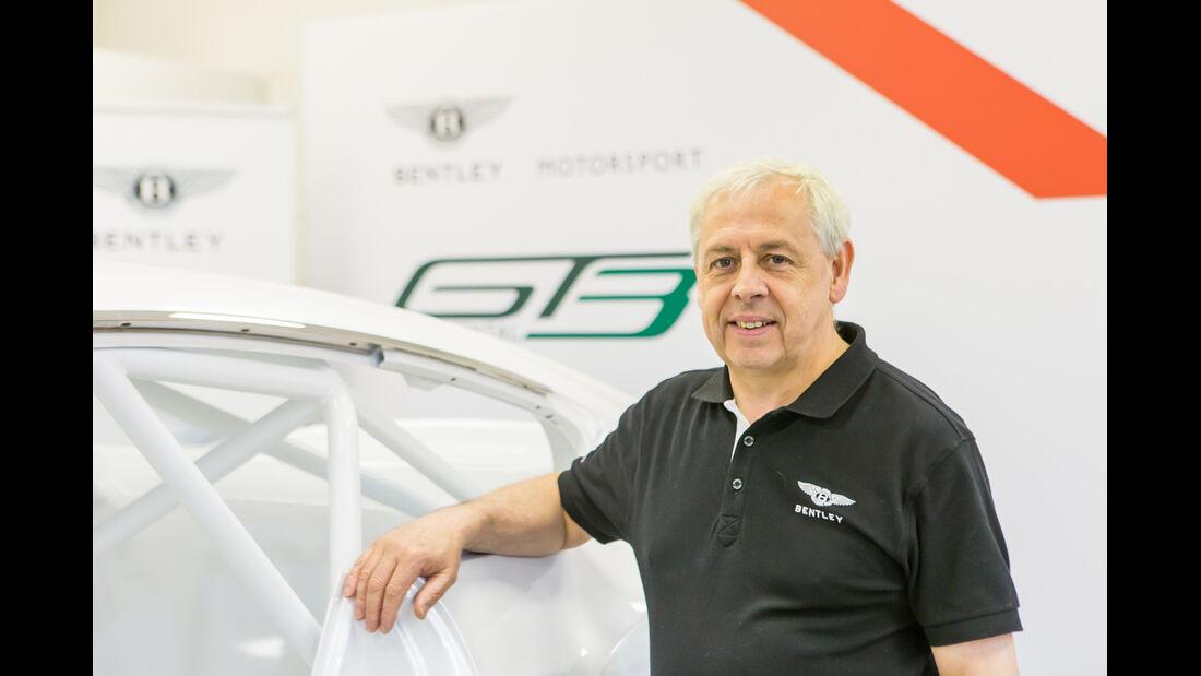 Bentley Continental GT3, Knstruktuer