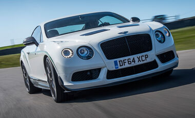 Bentley Continental GT3-R, Frontansicht