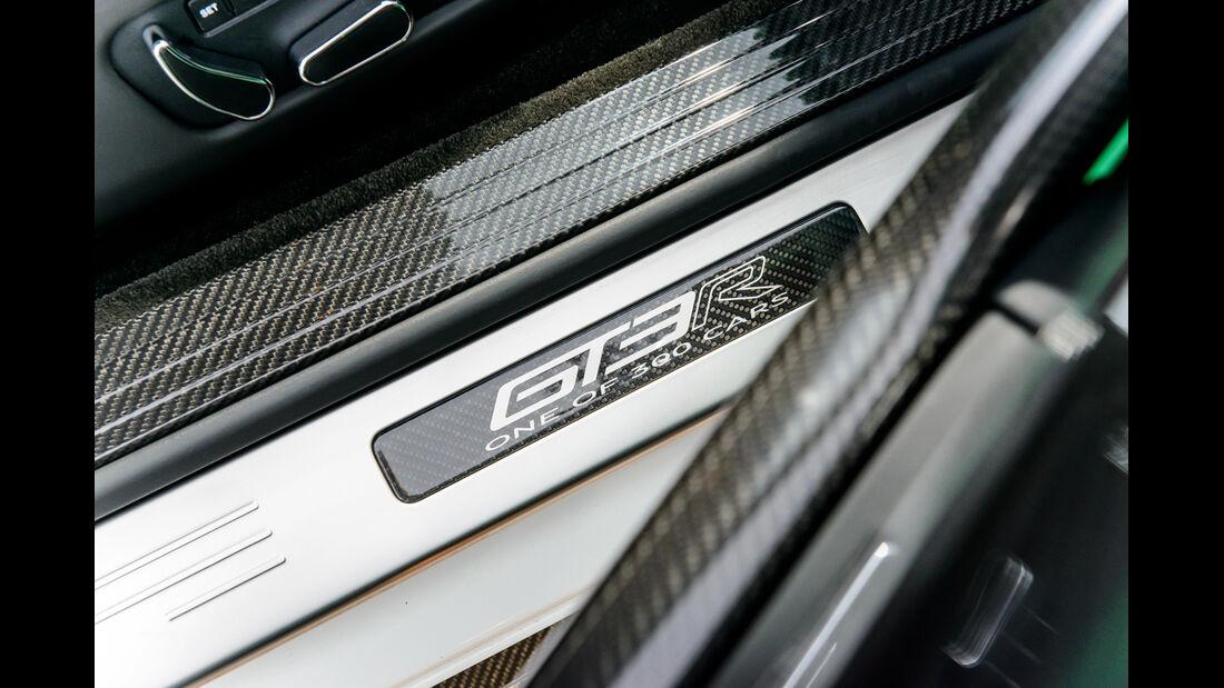 Bentley Continental GT3-R, Fußleiste
