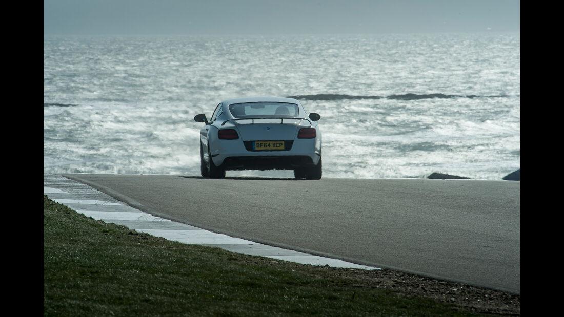 Bentley Continental GT3-R, Heckansicht