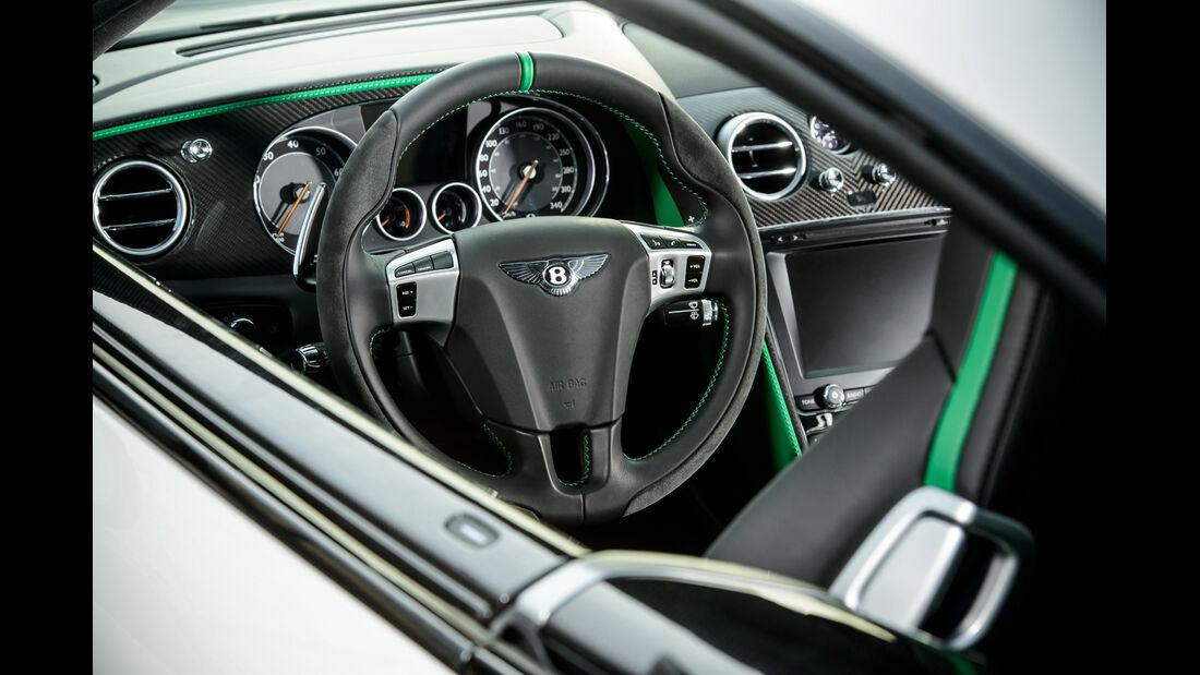 Bentley Continental GT3-R, Lenkrad