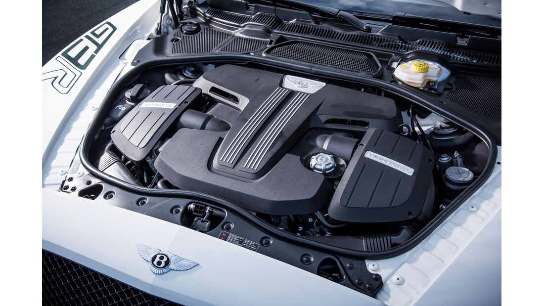 Bentley Continental GT3-R, Motor