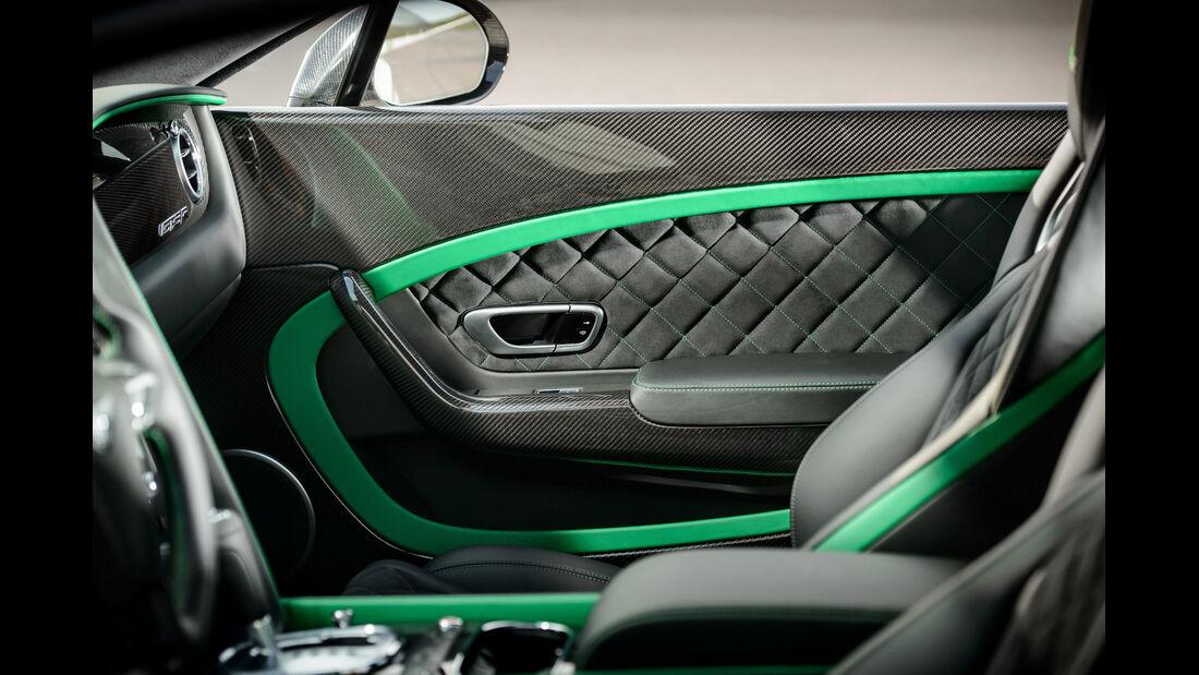 Bentley Continental GT3-R, Türinnenseite