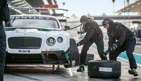 Bentley Continental  GT3, Radwechsel