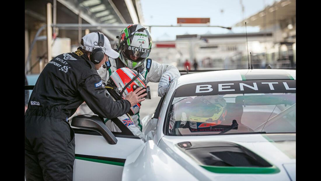 Bentley Continental  GT3, Rechtslenker, Rennfahrer