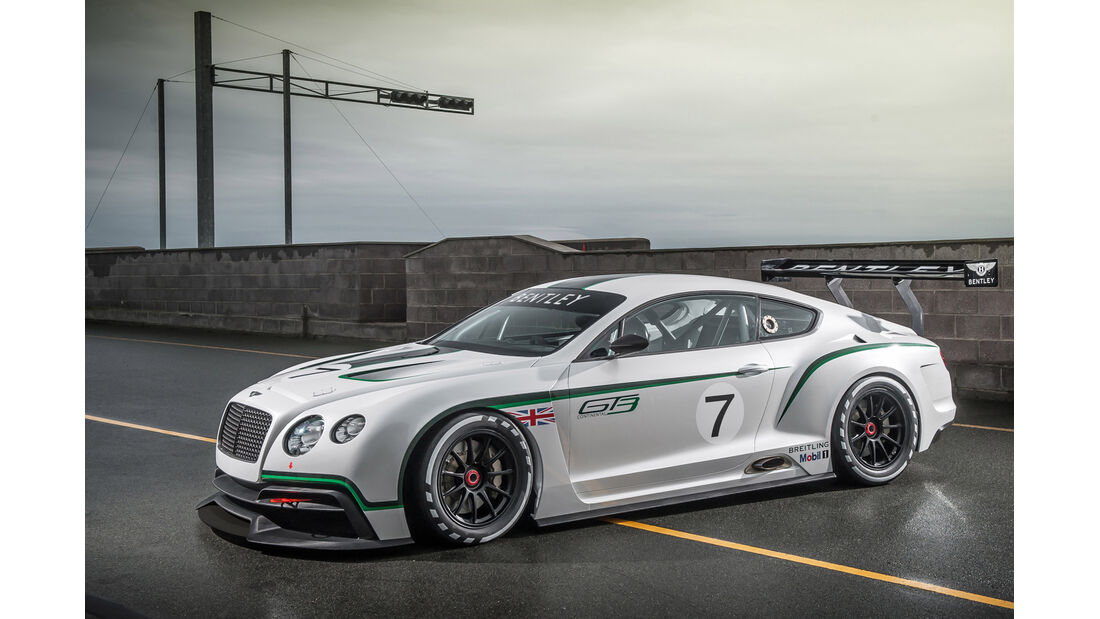 Bentley Continental GT3, Seitenansicht