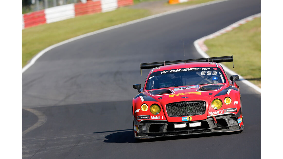 Bentley Continental GT3 - Startnummer #36 - 24h-Rennen Nürburgring 2017 - Nordschleife - Samstag - 27.5.2017